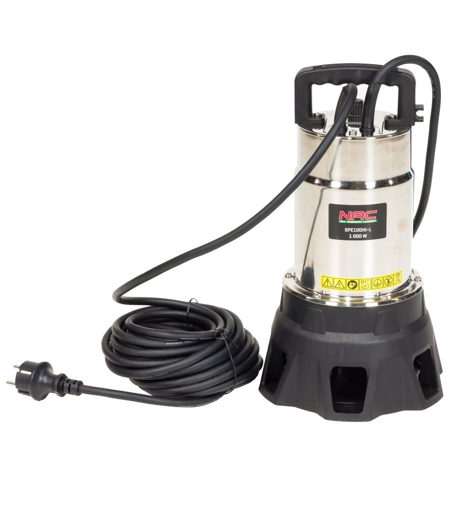 Pompa zanurzeniowa do brudnej wody NAC SPE100HI-L 1000W