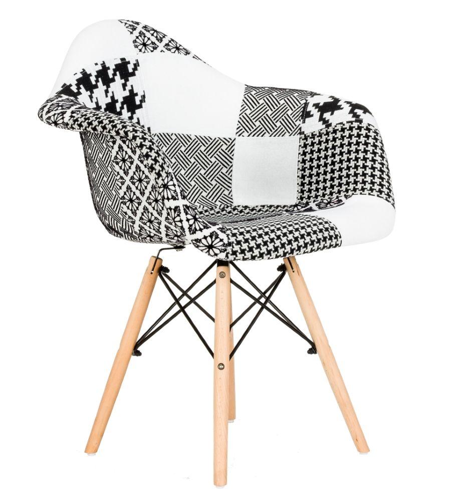 Krzesło patchwork FCS Sato 18