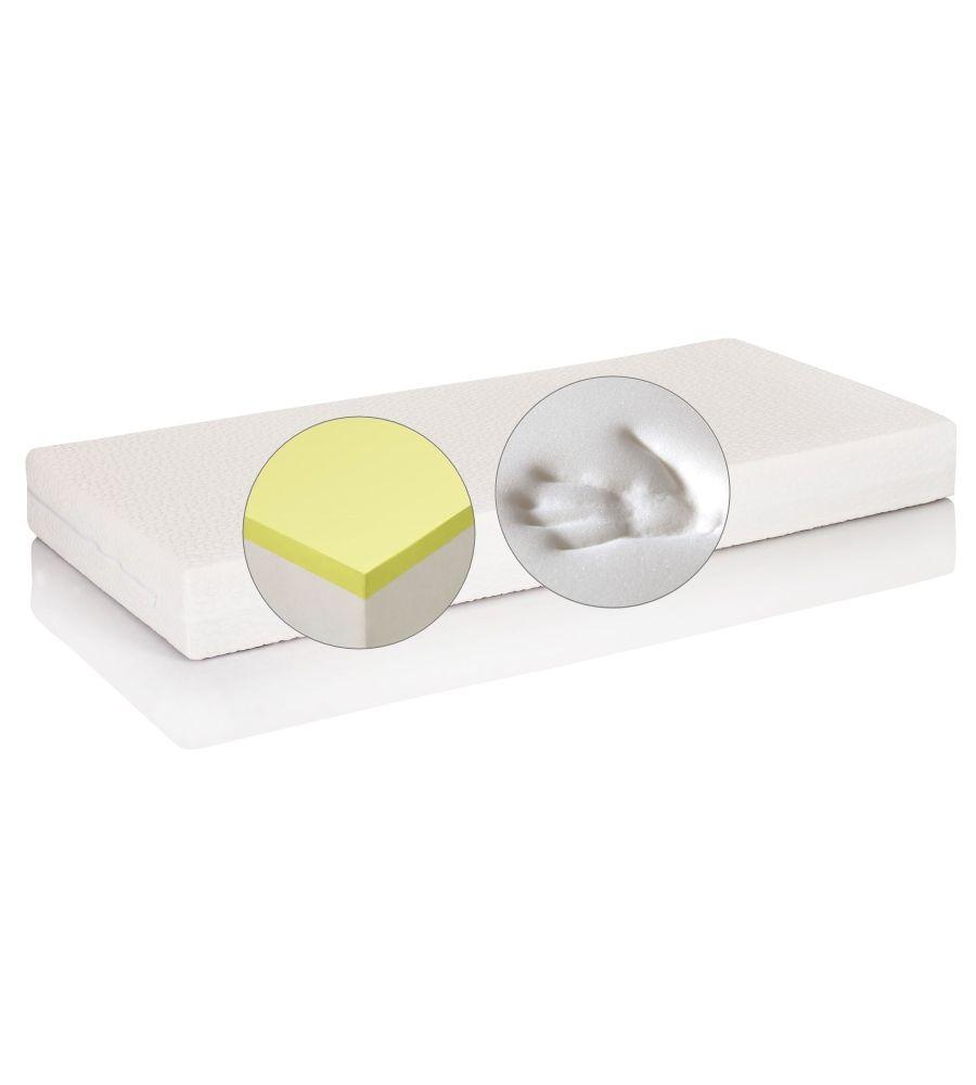 Materac lateksowy-visco Hevea Topactive Thermo Flexi 90x200 natural