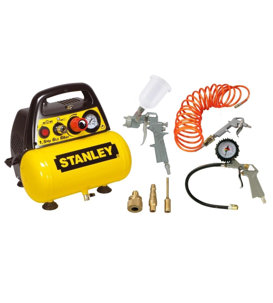 Kompresor 6L Stanley DN 200/8/6 KIT C6BB304STP608