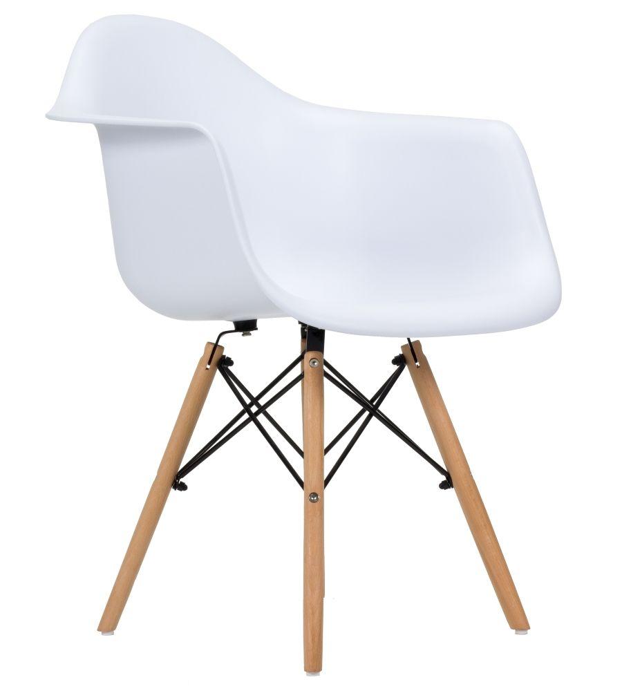 Krzesło skandynawskie FCS  Zano białe
