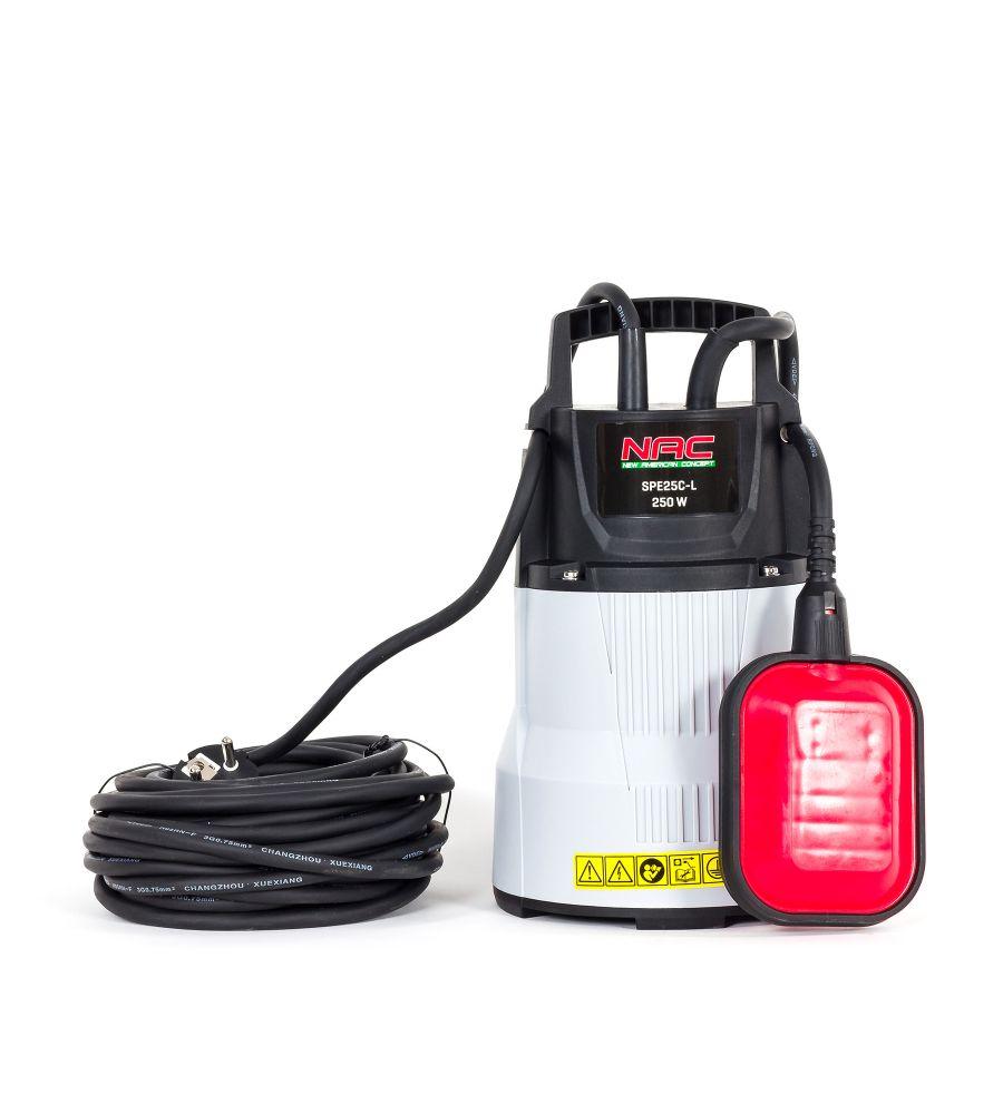 Pompa zatapialna do czystej wody NAC SPE25C-L 250W