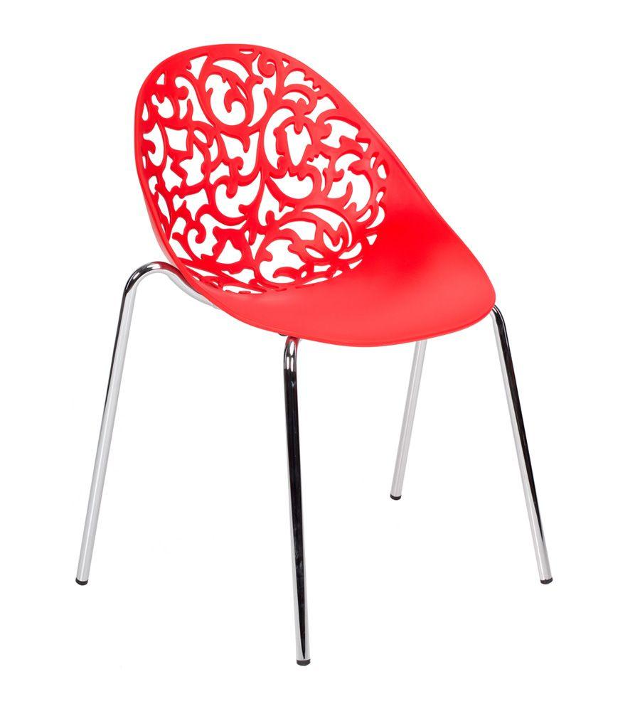 Krzesło LCN Mondo czerwone