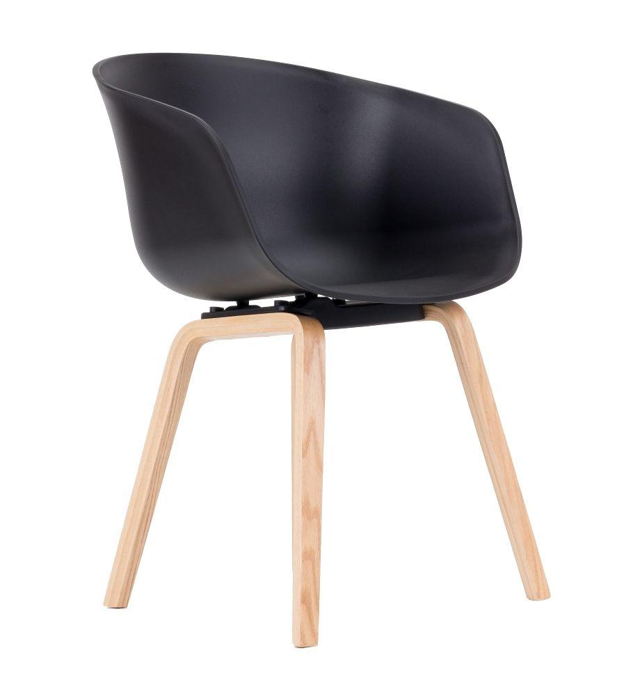 Krzesło LCN BOVO czarne