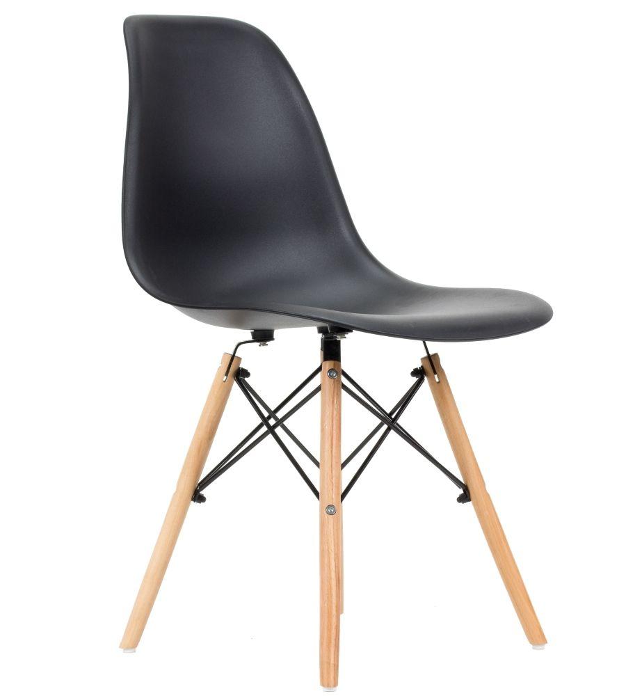 Krzesło skandynawskie FCS Cavo czarne