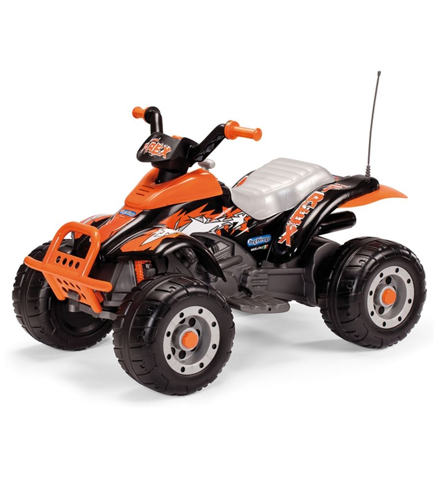 Pojazd na akumulator 12V Peg Perego Corral T-REX Black/Orange IGOR 0066