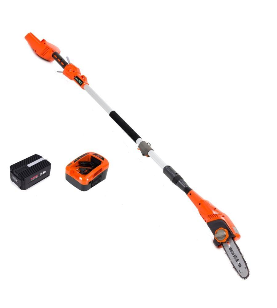 Pilarka akumulatorowa na wysięgniku NAC PCB40-BL-NG 40V z akumulatorem i ładowarką